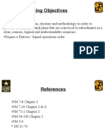 Operation Order Class