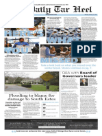 The Daily Tar Heel for Jan. 11, 2016