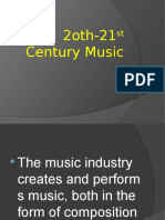 music20th-21stcentury-120905082621-phpapp02