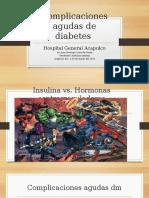 Complicaciones Urgentes Diabetes