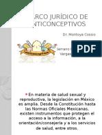 Marco Jurídico de Anticonceptivos