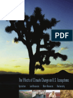 Effects of Climate Change on Us Ecosystem