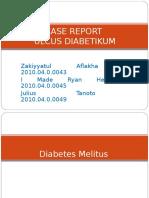 Case Report ULCUS DIABET + HIPERTENSI