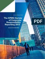 Corporate Responsibility Reporting Survey 2013 Exec Summary