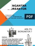 Pengantar Bioreaktor