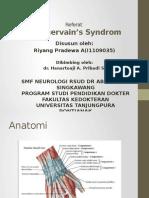 Referat Neuro de Quervain's Syndrom