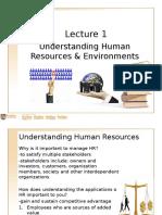 Understanding Human Resources