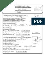 Solución de examen de electricidad y magnetismo