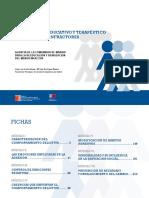 Programa Tratamiento Educativo y Terapeutico Para Menores Infractores Fichas