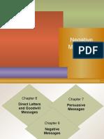 Negative Messages Detail PPT