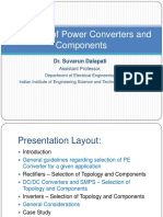 Selection of PE Converters and Components