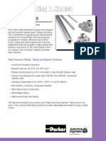 Auto Clave - High Pressure Fittings