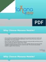 International Prepaid SIM Cards - Manana Mobile