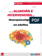 Evaluación e intervención neuropsicològica en adultos