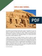 Abu Simbel, Venus de Milo y Teatro de Merida