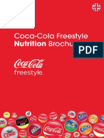 Coca Cola Freestyle Nutritional Information Ingredients