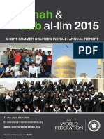 Madinah and Bab Report 2015
