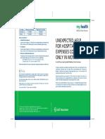 Myhealth Medisure Classic (Brochure)
