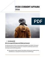 Prelims Current Affairs January 2016