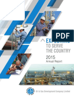 OGDCL Annual Report 2015