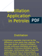 Distillation Petroleum