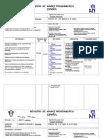 Planificación Mayo 2015 3o. de primaria