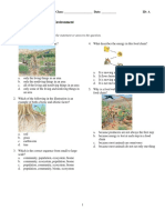 examview - 7th grade biotic and abiotic environment