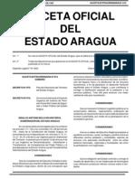 AREA METROPOLITANA DE MARACAY. ARTICULO 3. PLAN DE ORDENACIÓN DEL TERRITORIO DEL ESTADO ARAGUA