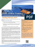 Online Training Brochure-2015