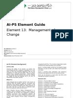 AI-PS Element Guide No 13