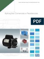 WEG Motores Aplicacoes Comerciais e Residenciais 50041418 Catalogo Portugues Br