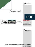 Diseño de Elementos sometidos a flexión