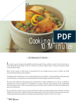 Cooking Under 10 Minutes -Tarla Dalal