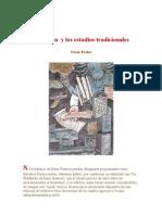 René Guénon  y los estudios tradicionales