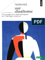 Dumont Louis - Essais Sur l'Individualisme