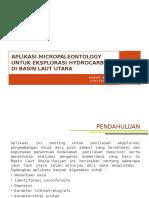 Aplikasi Micropaleontology Untuk Eksplorasi Hydrocarbon