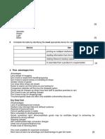 ICT Revision Worksheet