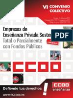Doc185462 VI Convenio Colectivo de Empresas de Ensenanza Privada Sostenidas Total o Parcialmente Con Fondos Publicos