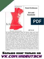 Daniel Kehlmann__Ich Und Kaminiski