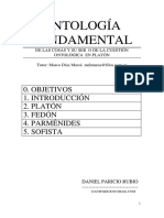Ontología. Apuntes de Clase. Daniel Paricio