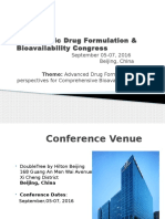 Drug Formulation & Bioavailability