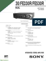 Sony Ta530 Amplifier