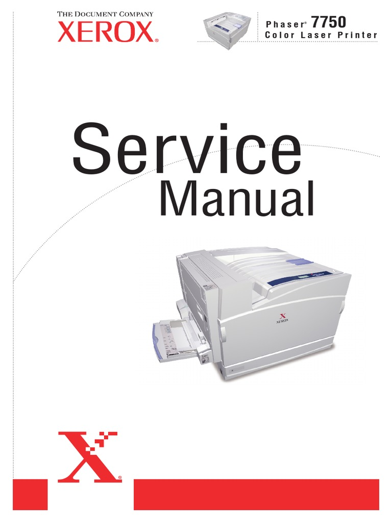 Xerox Phaser 7750 Service Manual   Electromagnetic Interference    Electrostatic Discharge