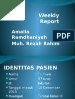 Weekly Report Tu. Abdomen Dan Hipoalbuminemia