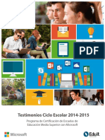 DOCUMENTO DE IMPACTO - Testimonios Ciclo 2014-2015 ok.pdf