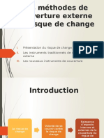 Méthodes de Couverture Externe Du Risque de Change