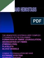Drugs and Hemostasis