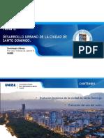 Desarrollo urbano Santo Domingo