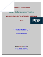 Muestra Temario General Tcos Aragon Falta Temario Pero Buen Comienzo