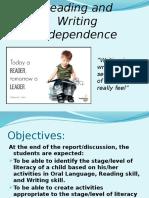 Dev Read 2 Report